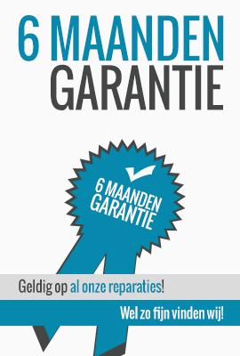 Mobilerepairsolutions 6 maanden garantie